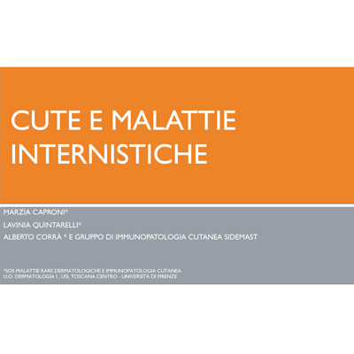 Cute e Malattie Internistiche