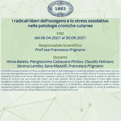 I radicali liberi dell'ossigeno e lo stress ossidativo