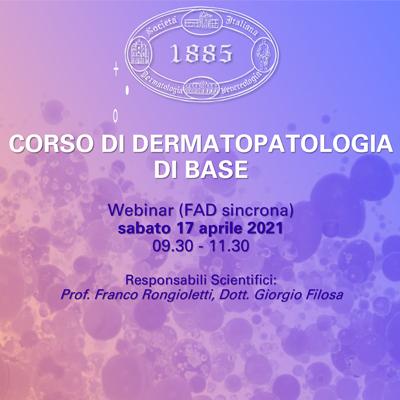 Corso di Dermatopatologia di Base
