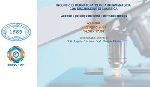 Incontri di dermatopatologia infiammatoria con discussione di casistica